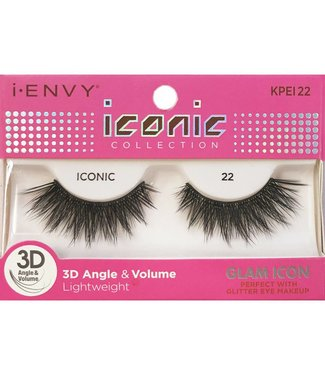 Ruby Kiss i Envy Iconic Lashes KPEI22