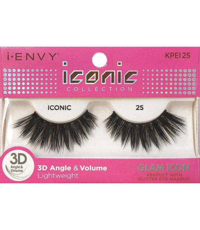 Ruby Kiss i Envy Iconic Lashes KPEI25