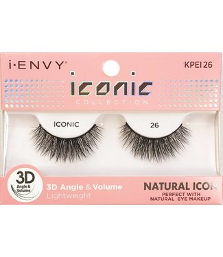 Ruby Kiss i Envy Iconic Lashes KPEI26