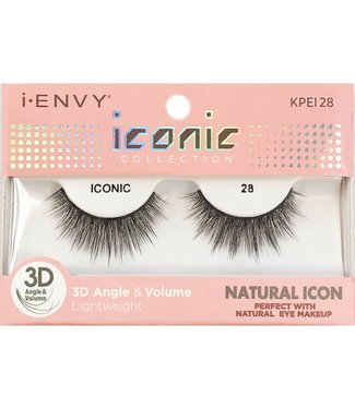 Ruby Kiss i Envy Iconic Lashes KPEI28