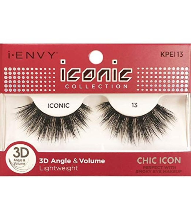Ruby Kiss i Envy Iconic Lashes KPEI13