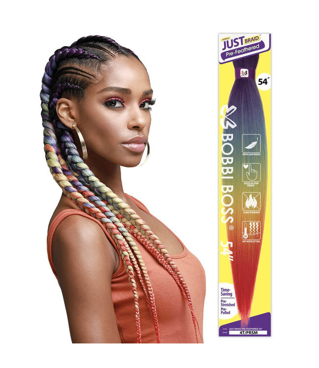 Bobbi Boss Bobbi Boss Just Braid Pre-Feathered 54 Inch