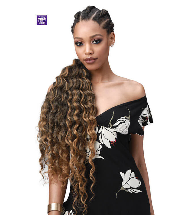 Bobbi Boss Bobbi Boss King Tips Ocean Wave 28-Inch 3X Braid Hair