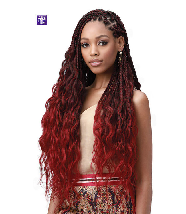 Bobbi Boss Bobbi Boss King Tips Body Wave 28-Inch 3X Braid Hair