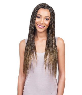 Bobbi Boss Feather Tip 54-Inch Synthetic Braiding Hair
