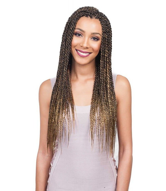 Bobbi Boss Feather Tip 54 Inch Pre Stretched Synthetic Braiding Hair
