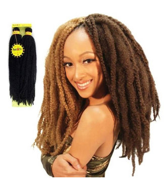 "Rastafri RastAfri Malibu Afro Kinky 10"" or 14""  Braid Hair"