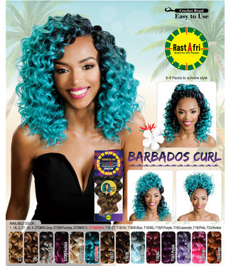 Rastafri RastAfri Barbados Curl Crochet Hair