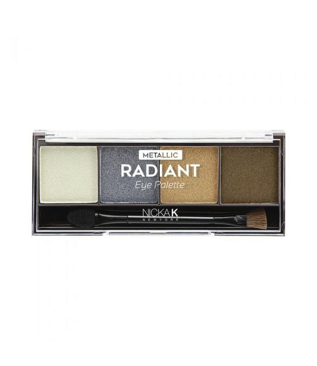 Nicka K Nicka K Metallic Radiant Eyeshadow Palette