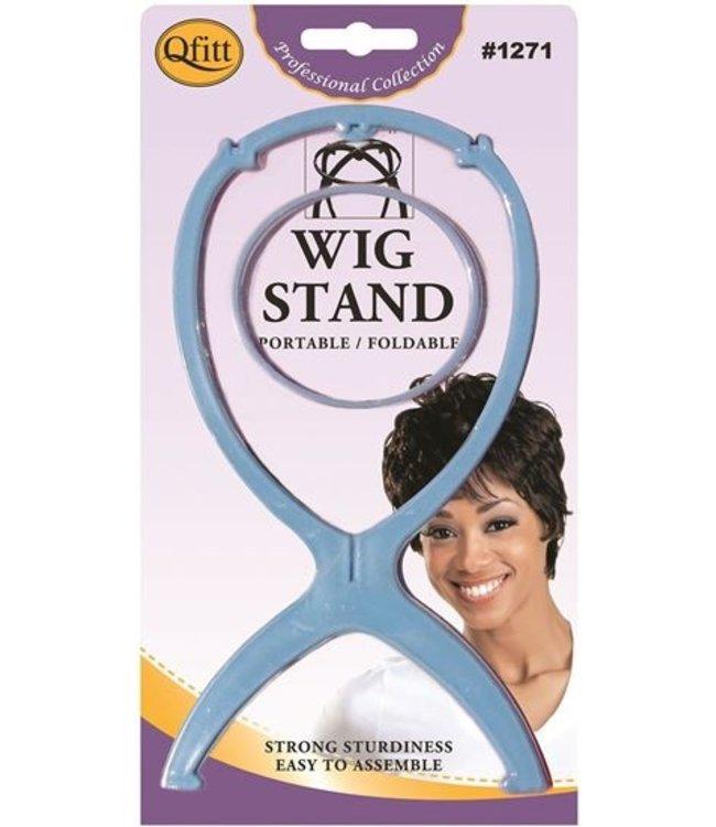 M&M HEADGEAR Qfitt Foldable Wig Stand