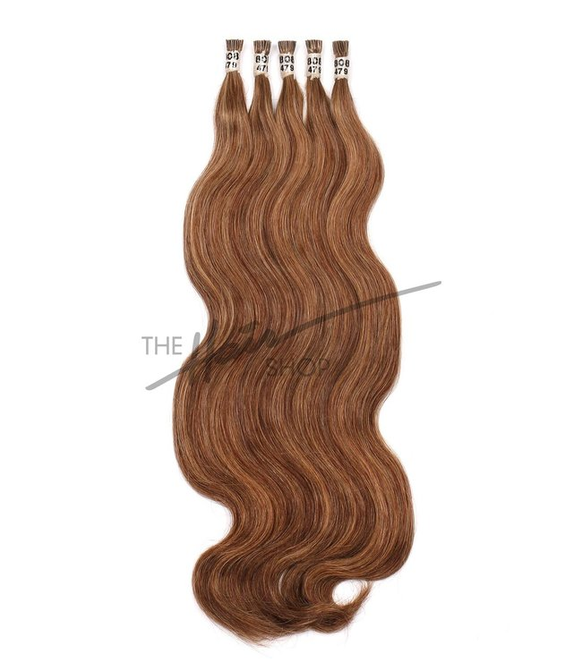"The Hair Shop 808 I-Tip Body Wave 18"" Hair Extensions"
