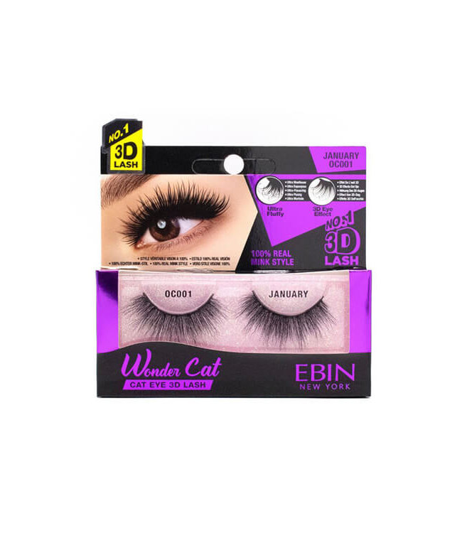 Ebin New York Ebin Wonder Cat – Cat Eye 3D Lashes