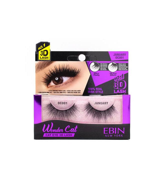Ebin New York Ebin Wonder Cat – Cat Eye 3D Lashes