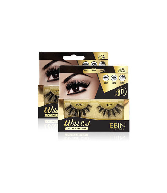 Ebin New York Ebin Wild Cat – Cat Eye 3D Lashes