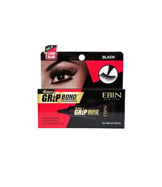 Ebin New York Ebin 4Ever Grip Bond Tube Lash Adhesive (Black)