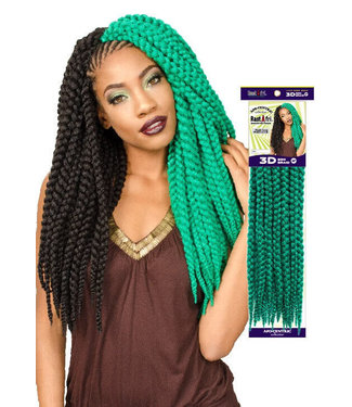 Rastafri RastAfri 3D Box Braid 18-inch Crochet Extension