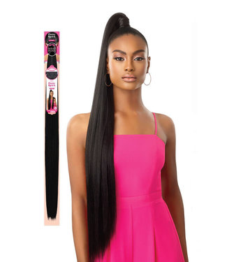 Outre Outre Pretty Quick Sleek Straight Wrap Pony 36""