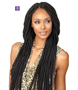 "Bobbi Boss Bobbi Boss Bomba Faux Locs Dread 20"" Crochet Braid"