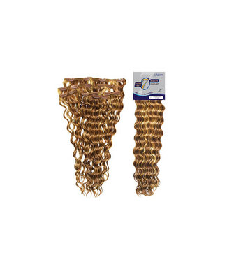 "Fashion Source Fashion Source 7PC Loose Deep Wave 18"" Clip-In Extensions"