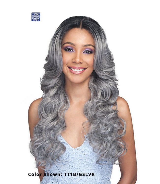 Bobbi Boss Bobbi Boss MBLF340 KILIAH Lace Front Blend Wig