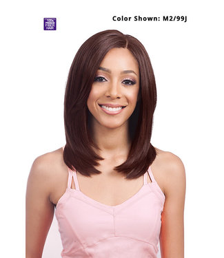 "Bobbi Boss Bobbi Boss MLF270 Fendi 4""x4"" Silk Base Lace Front Wig"