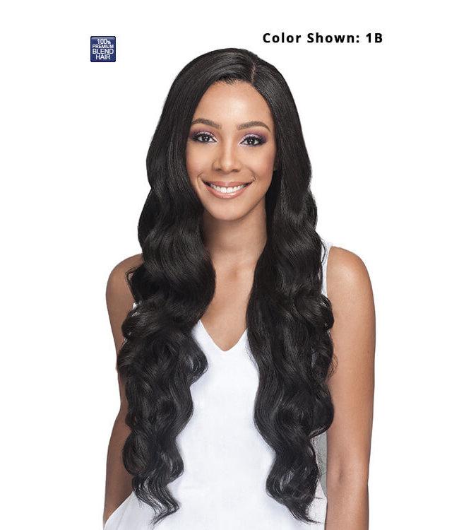 Bobbi Boss Bobbi Boss MBLF150 Pekela Human Blend Lace Front Wig