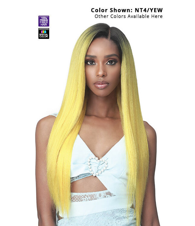 "Bobbi Boss Bobbi Boss Glueless MLF455 Ayla Synthetic 13""x7"" HD Lace Front Wig"