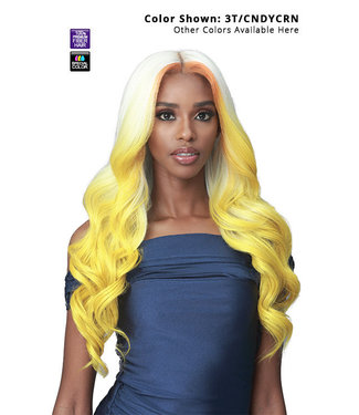 "Bobbi Boss Bobbi Boss Glueless MLF451 Jacintha 13""x7"" HD Lace Front Wig"