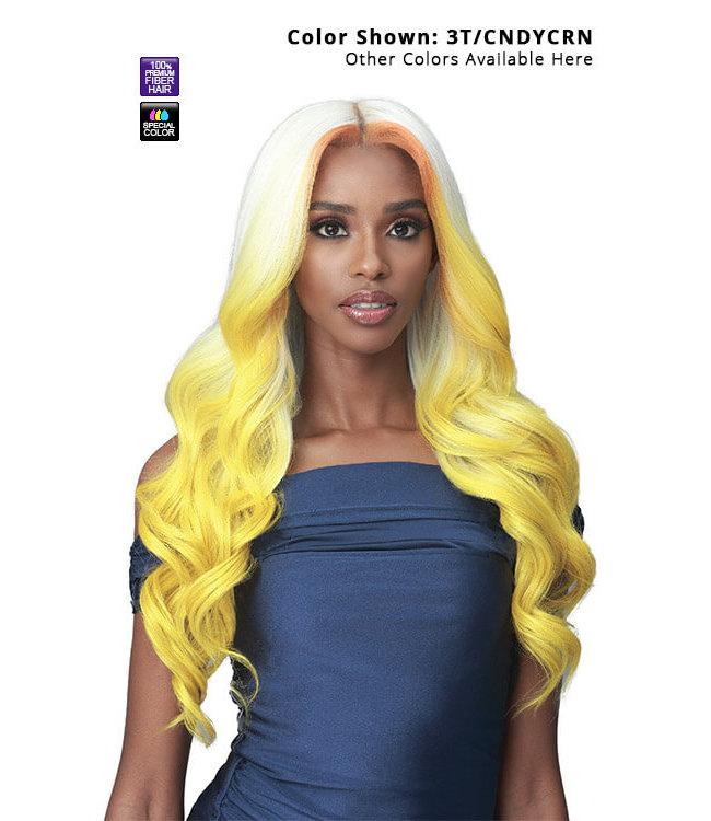 """Bobbi Boss Bobbi Boss Glueless MLF451 Jacintha 13""""x7"""" HD Lace Front Wig"""