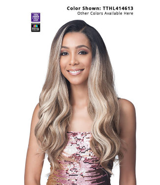 "Bobbi Boss Bobbi Boss MLF413 Teagan 13"" x 4"" Glueless HD Lace Wig"