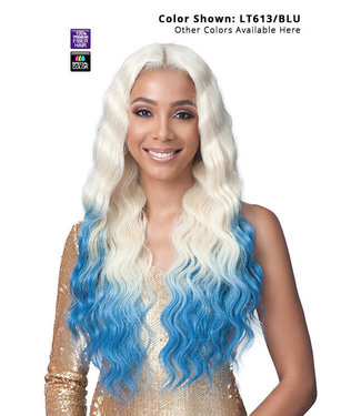 "Bobbi Boss Bobbi Boss MLF414 Noelle 13"" x 4"" Glueless HD Lace Wig"