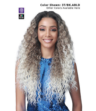 "Bobbi Boss Bobbi Boss MLF412 Camille 13"" x 4"" Glueless HD Lace Front Wig"