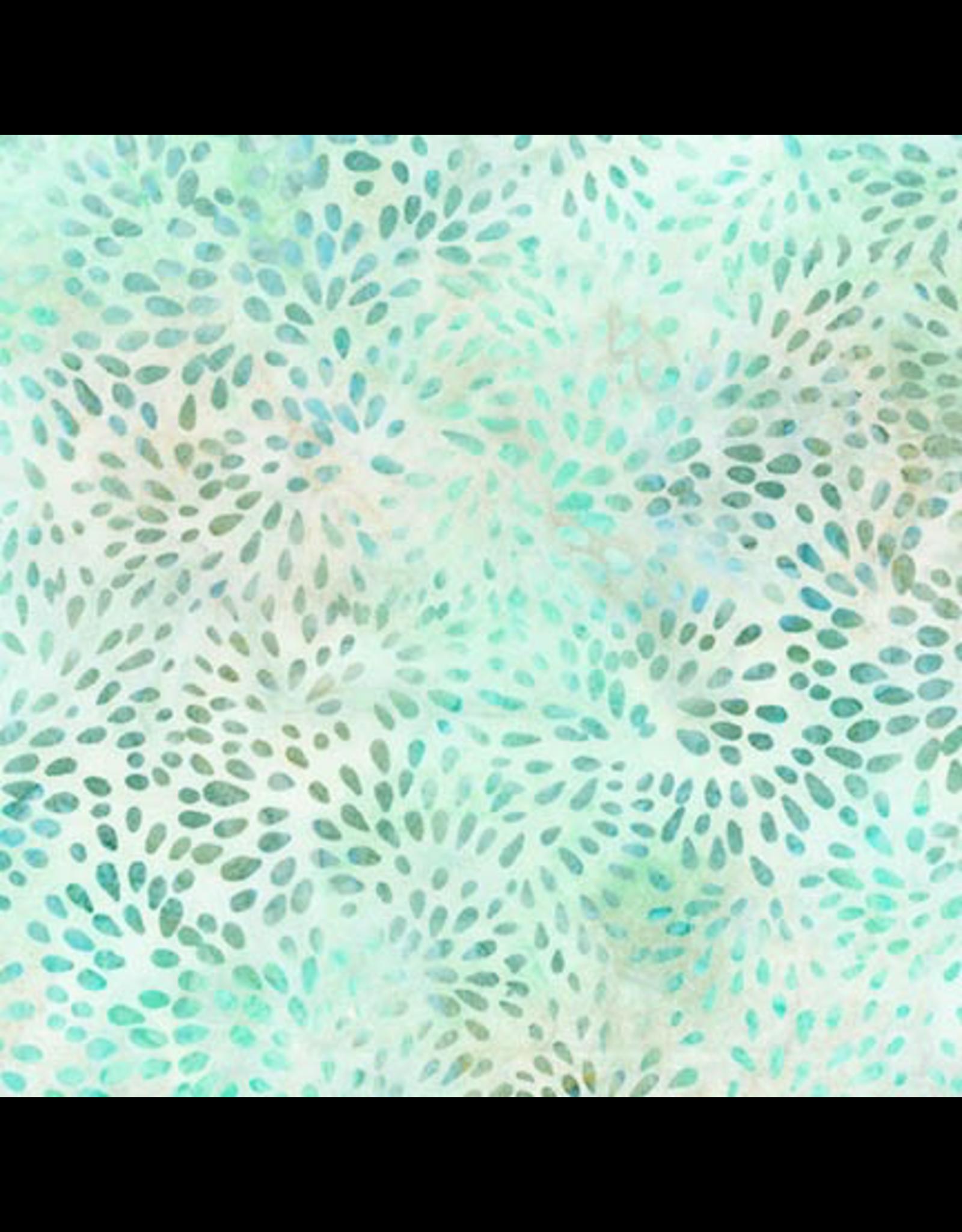 Robert Kaufman Elementals Petals - Aqua