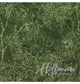 Hoffman Fabrics Bali Batik - Grasshopper