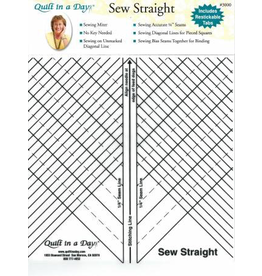 Sew Straight Quilt Template