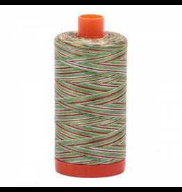Aurifil Cotton Thread 50 wt 1422 yards Variegated Leaves