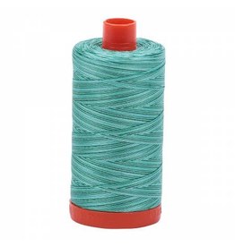 Aurifil Cotton Thread 50 wt 1422 yards Variegated Teal