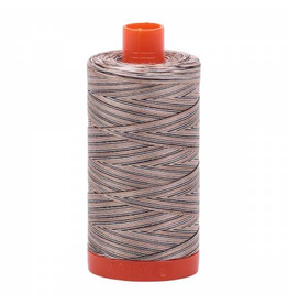 Aurifil Cotton Thread 50 wt 1422 yards Variegated Browns