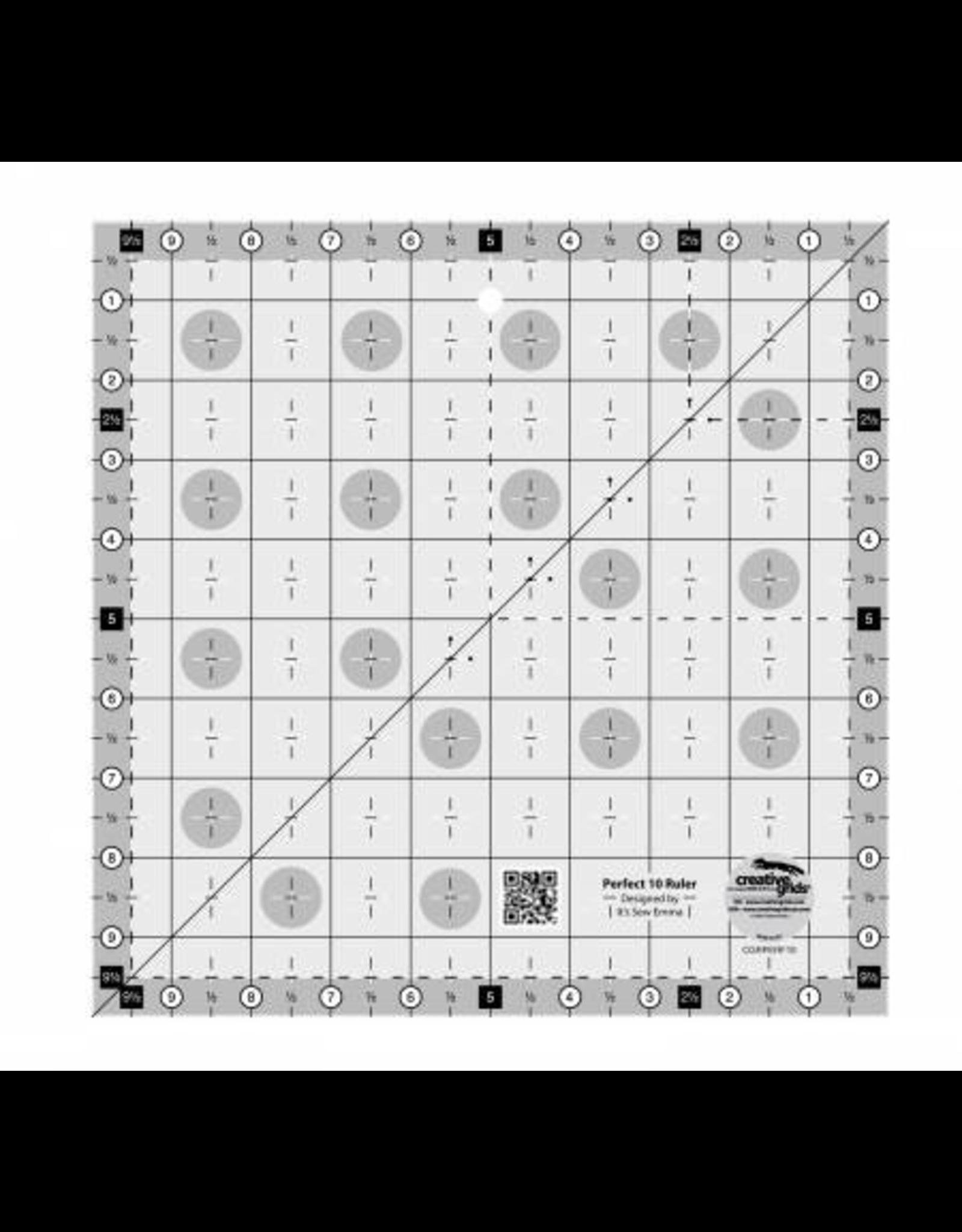Creative Grids Perfect 10 Ruler