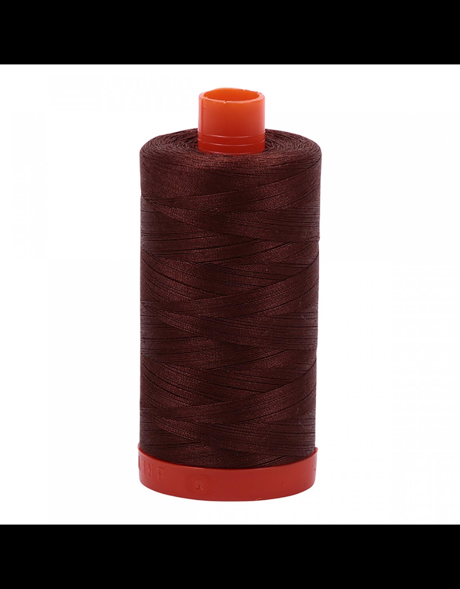Aurifil Cotton Thread 50 wt 1422 yards Dark Antique Gold