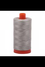 Aurifil Cotton Thread 50 wt 1422 yards Light Grey
