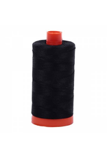 Aurifil Cotton Thread 50 wt 1422 yards Black