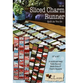 Sliced Charm Runner (Quilt As You Go)