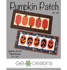 Pumpkin Patch (Quilt As You Go)