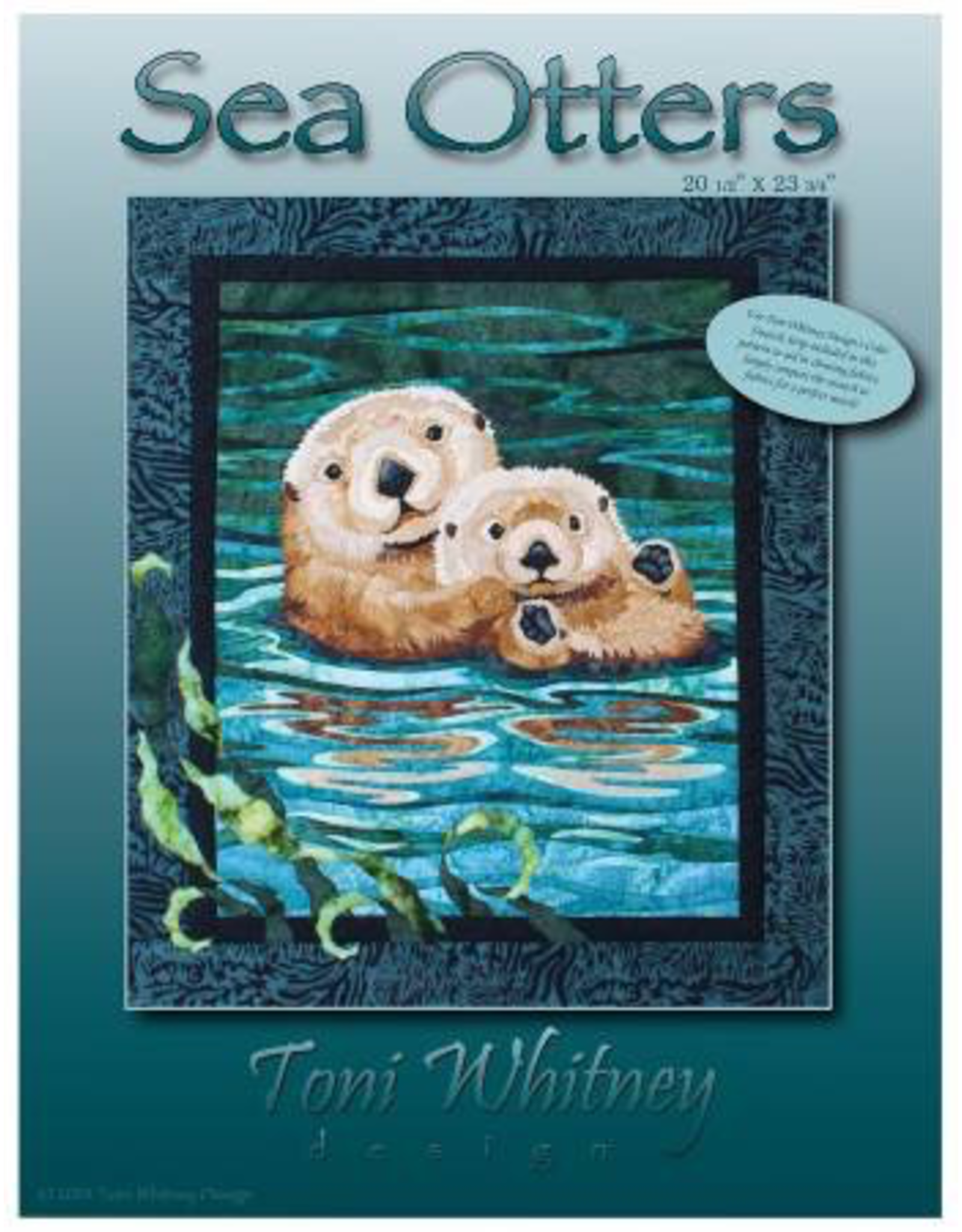 Sea Otters Pattern