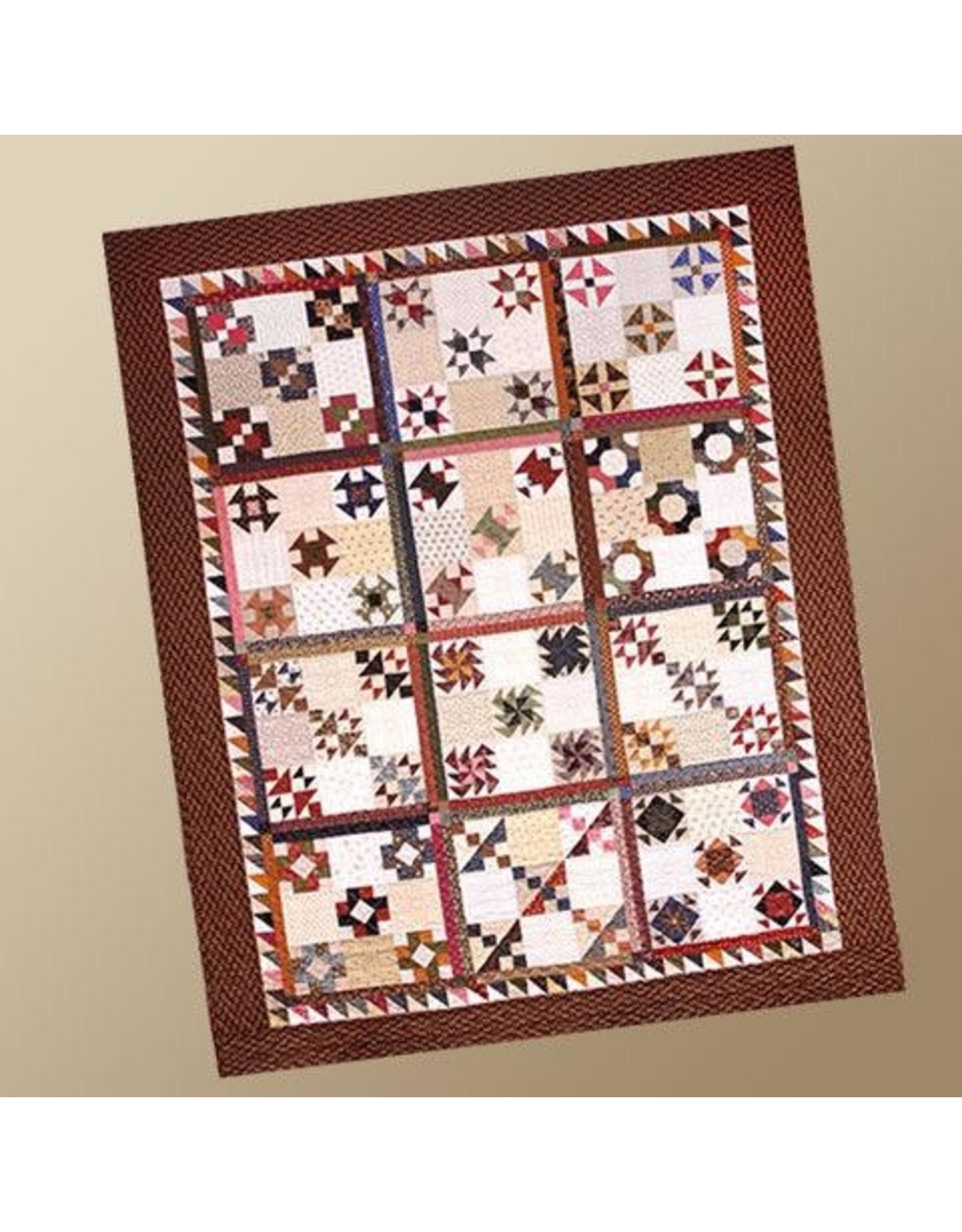 Yellow Creek Quilt Designs Grant's March