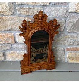 Antique Clock Display Case, Oak, Gilbert