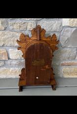 Antique Clock Display Case, Oak, Gilbert