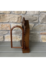 Antique Clock Display Case, Walnut, Welch
