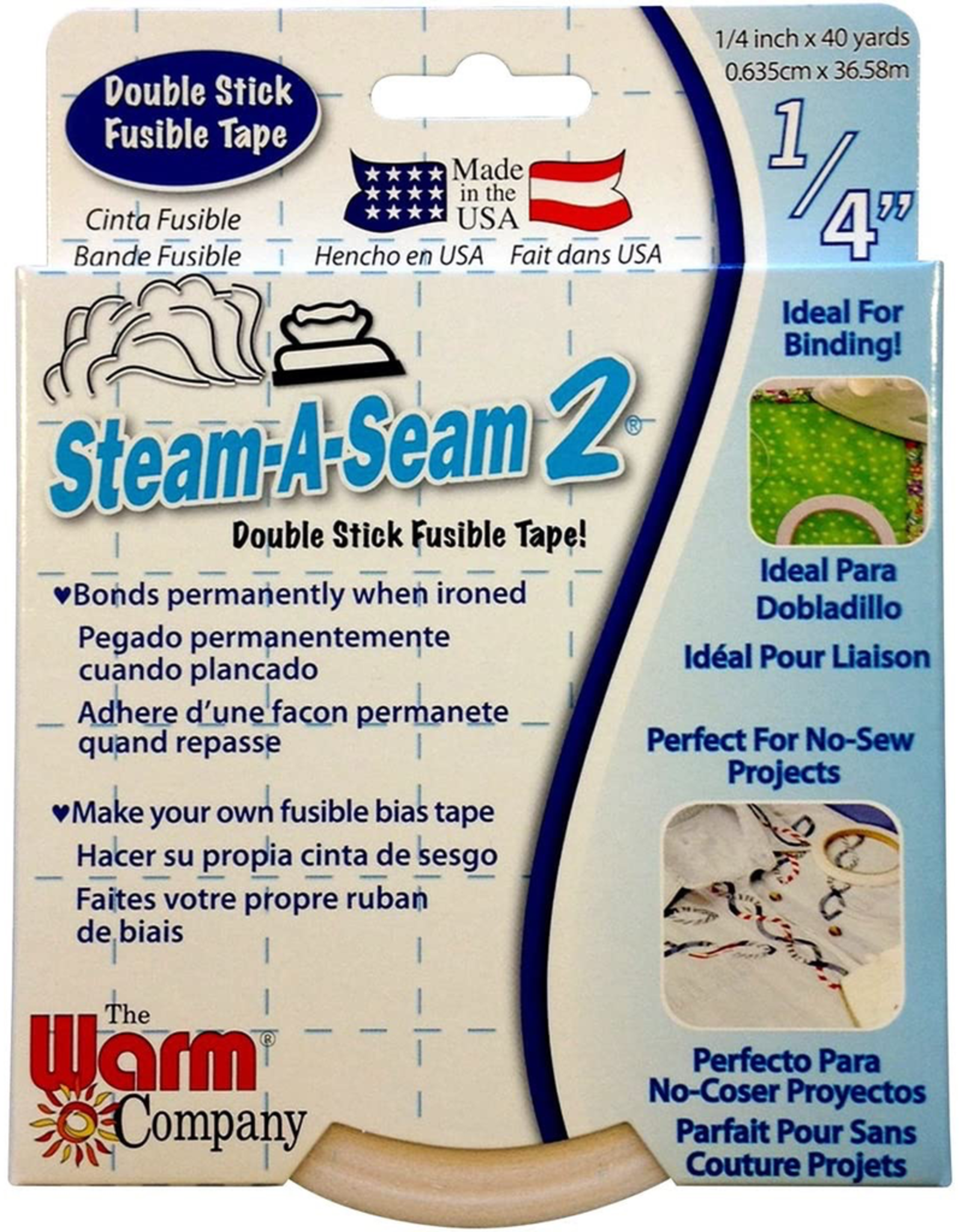 "Steam A Seam 2 Lite Fusible 1/4"" x 40 yards"
